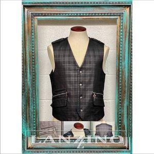 Lanzzino Men's Vest